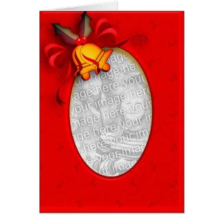 Jingle Bells Photo  Christmas Card