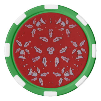 Jingle Bells Poker Chips