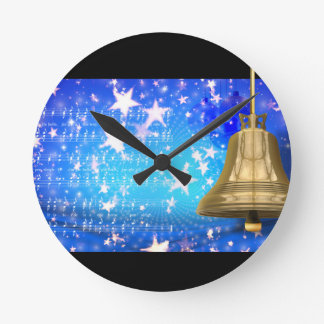Jingle Bells Round Clock