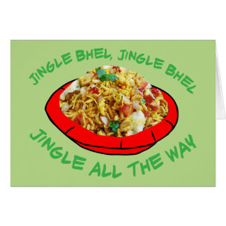 Jingle Bhel Card