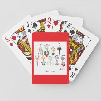 JINGLE CATS Christmas Playing Cards