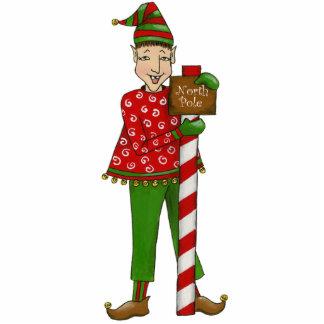 """Jingle Elves """"Horace"""" 5X7 Ornament Photo Sculpture Ornament"""
