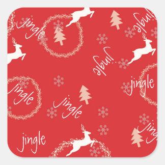 Jingle Holiday Sticker