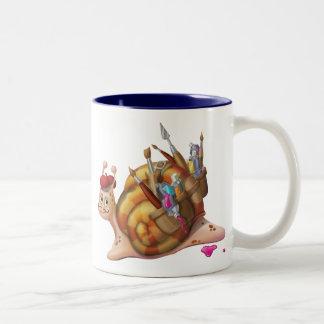 Jingle Jingle Little Gnome Artistic Snail Mug