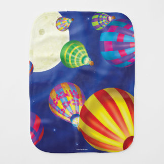 Jingle Jingle Little Gnome Balloons Burp Cloth