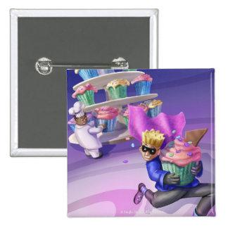 Jingle Jingle Little Gnome Cupcake Caper Button