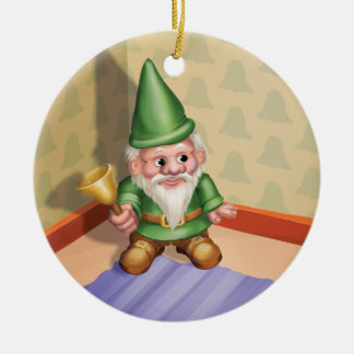 Jingle Jingle Little Gnome Ding-a-Ling Ornament