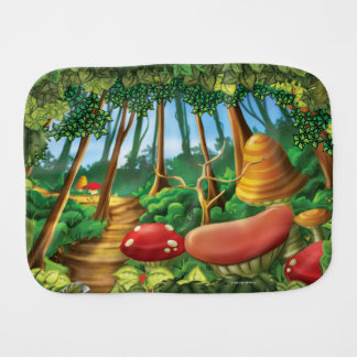 Jingle Jingle Little Gnome Forest Burp Cloth