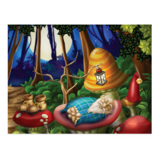 Jingle Jingle Little Gnome Gnome Nap Postcard