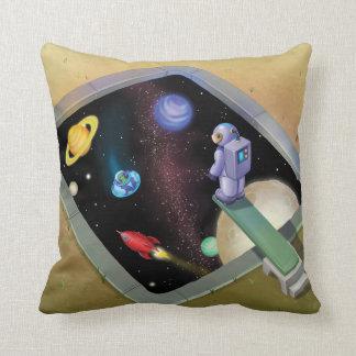 Jingle Jingle Little Gnome Outer Space Pillow