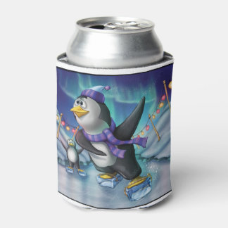 Jingle Jingle Little Gnome Penguin Can Cooler