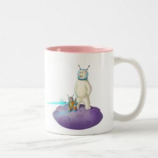Jingle Jingle Little Gnome Space Friends Mug