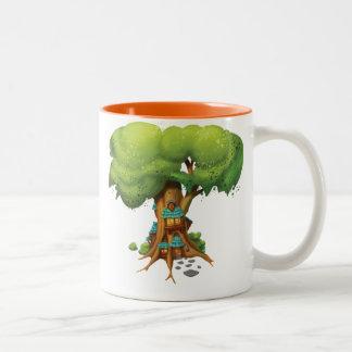 Jingle Jingle Little Gnome Tree House Mug