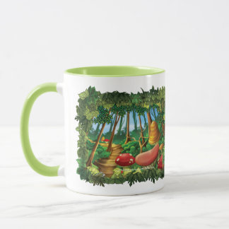 Jingle Jingle Little Gnome Whimsical Forest Mug