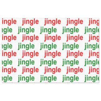Jingle Jingle Red Green White Christmas Tissue Paper