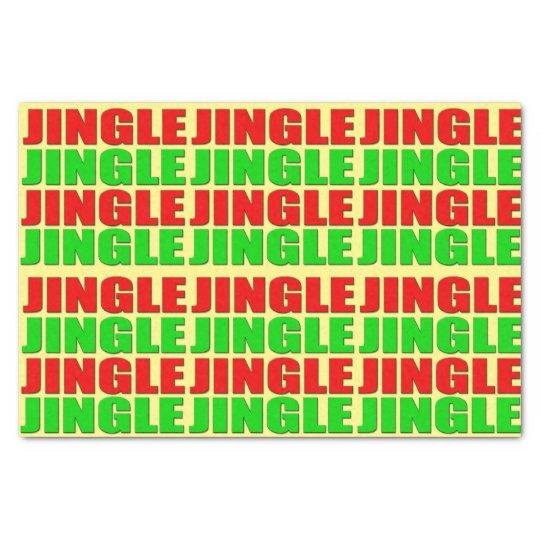 Jingle Jingle Tissue Paper