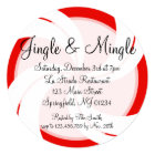 Jingle & Mingle Christmas Invitation