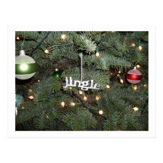 Jingle postcard