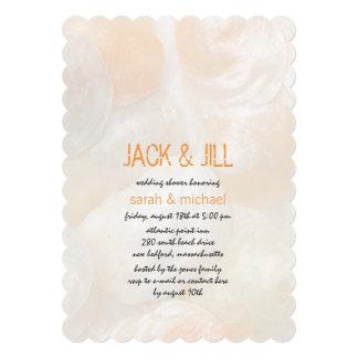 Jingle Shells Modern Jack and Jill Wedding Shower Card