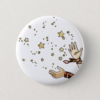 Jingle Star 2 Inch Round Button