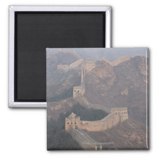 Jinshanling section, Great Wall of China Square Magnet