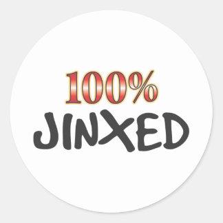Jinxed 100 Percent Sticker