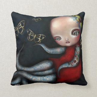 Jinxi Octopus Tattoo Girl Pillow
