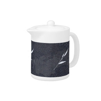Jitaku Bamboo Indigo Dyed Teapot