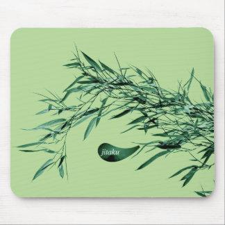 Jitaku Bamboo Leaves Green Mousepad