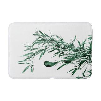 Jitaku Green Bamboo Bath Mat