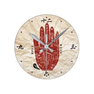 Jitaku Palm Paper Texture Clock