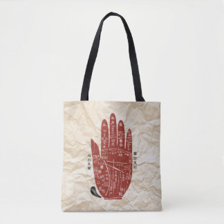 Jitaku Palm Paper Texture Shopping Bag