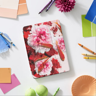 Jitaku Peony And Goldfish iPad Pro Case iPad Pro Cover