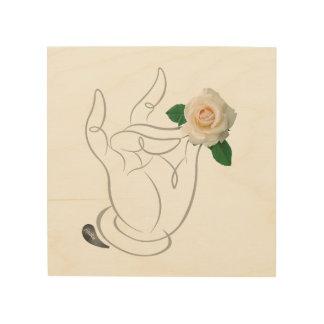 Jitaku Smell The Roses Wood Wall Art