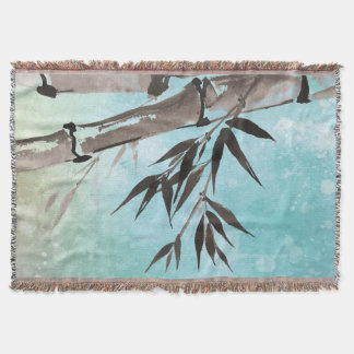 Jitaku Winter Bamboo Throw Blanket