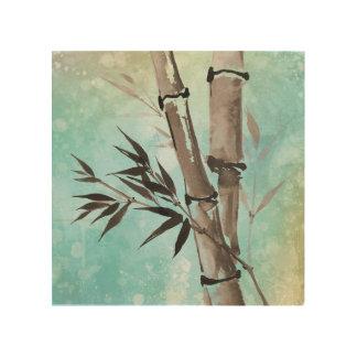 Jitaku Winter Bamboo Wood Wall Art