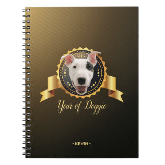 Jitaku Year Of The Dog Badge Notebook