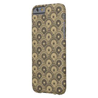 Jitaku Yellow Brown Floral Patter Smart Phone Case
