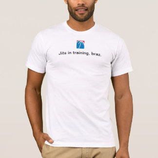 Jits in training, braz. T-Shirt
