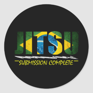 Jitsu - BJJ Submission Complete Sticker