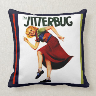 JITTERBUG DANCE THROW PILLOW