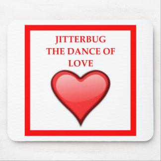 jitterbug mouse pad