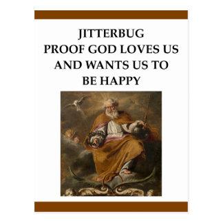 jitterbug postcard
