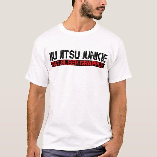 Jiu Jitsu Junkie - Eat. Sleep. Grapple. T-shirt