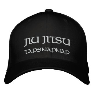 Jiu Jitsu TapSnapNap Embroidered Hat
