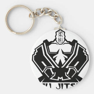 Jiu Jitsu - The Fighter Prepares Keychain