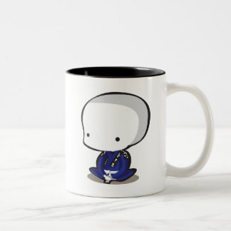 Jiu Jitsu Two-Tone Coffee Mug