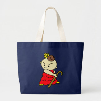 jiyanbototobasu child red large tote bag