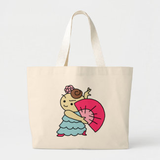 jiyanbototosensu child pink large tote bag