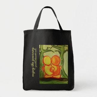 jizo: enjoy the journey tote bag